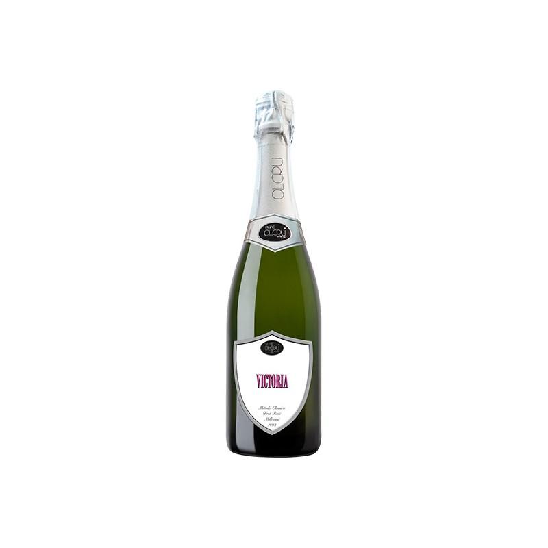 Italian sparkling wine Victoria Blanc De Noir Pinot Nero Brut Rosé in 0.75L bottle