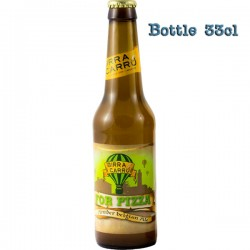 Beer for pizza in 33cl beer bottle