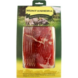 Pack with Iberian Black Pork Ham sliced