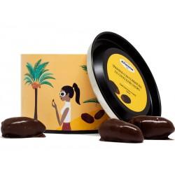 Dark Chocolate - Coated Dates
