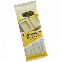 White chocolate bar with 50grs