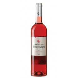 Rosé wine bottle Herdade dos Templarios