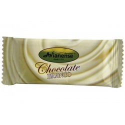 Mini white chocolate bar 10grs