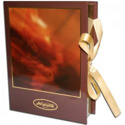 Chocolate bonbon Imperador in book shape gift-box