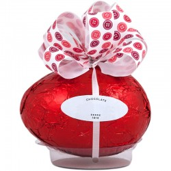Easter chocolate egg with bow with 65grs