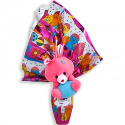 Easter chocolate egg bouquet 150grs with toy