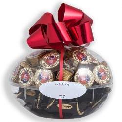 Easter egg with chocolate bonbons with 420grs.