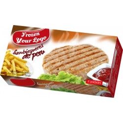 Frozen Turkey burger box