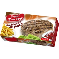 Frozen Pork Burger Box