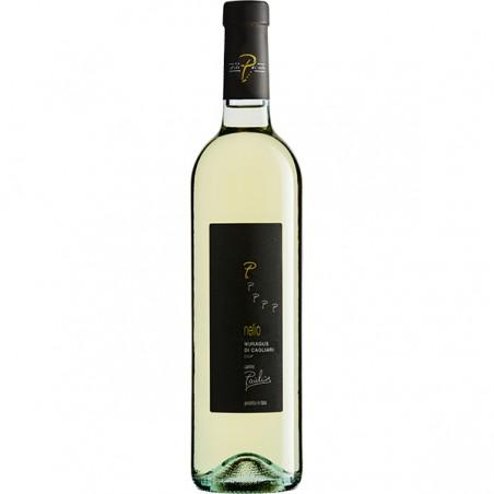 White wine bottle Nelio Nuragus di Cagliari DOC