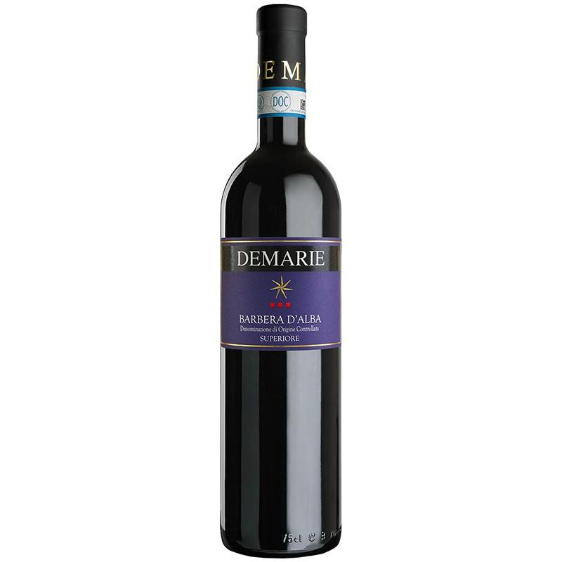 Barbera d'Alba Superiore DOC red wine bottle