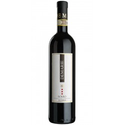 Roero Riserva DOCG red wine bottle made with Nebbiolo grapes