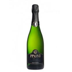 Sparkling wine bottle Millesimato Brut Classico TRENTODOC Spumante