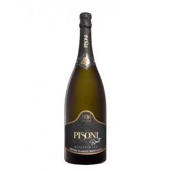 Italian sparkling wine Millesimato Brut Magnum TRENTODOC spumante