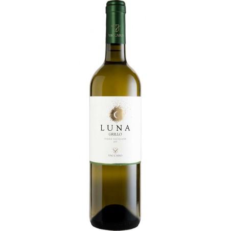White wine bottle Luna Grillo