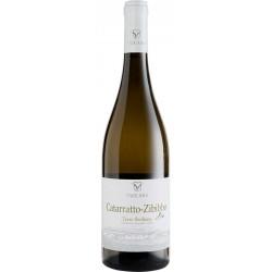 Organic white wine bottle BIO Catarratto and Zibibbo Terre Siciliane IGT