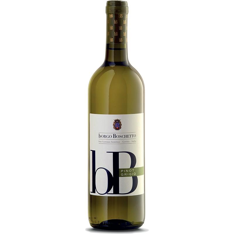 White wine bottle PINOT GRIGIO DOC FRIULI