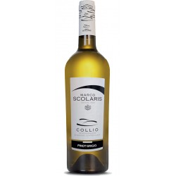 White wine bottle Pinot Grigio DOC Collio