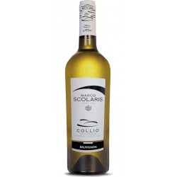 White wine bottle Sauvignon DOC Collio