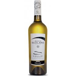 White wine bottle Friulano DOC Collio