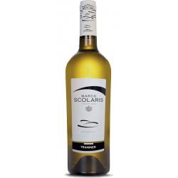 White wine bottle Traminer Aromatico IGT Trevenezie