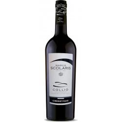 Red wine bottle Cabernet Franc DOC Collio