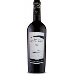 Red wine bottle Cabernet Sauvignon DOC Collio