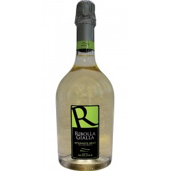 Sparkling wine bottle Ribolla Gialla Spumante Brut