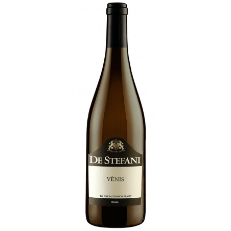 White wine bottle Sauvignon delle Venezie IGT - VÈNIS No Added Sulfites