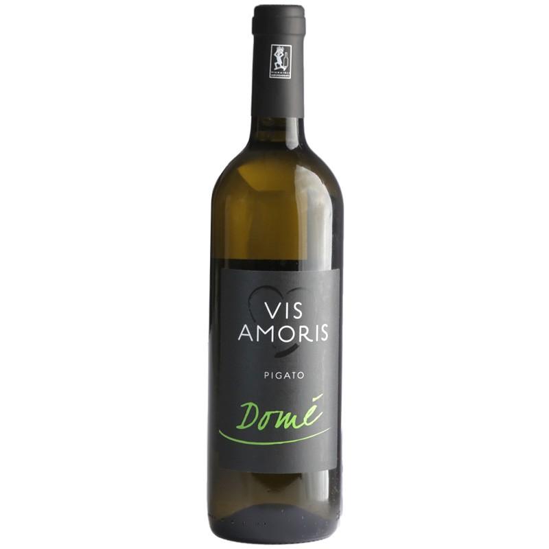 White wine bottle Pigato Domé from Liguria