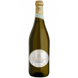 Sparkling wine bottle Moscato d'Asti DOCG GIARDINO from Piemonte in Italy