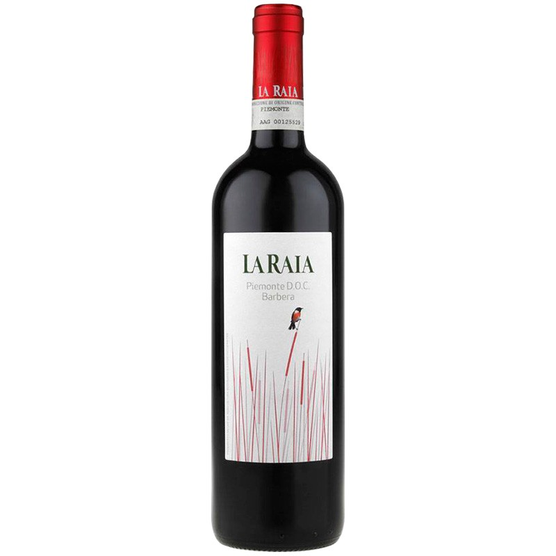 Biodynamic red wine Piemonte DOC Barbera