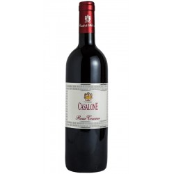 Red wine bottle Casalone IGT rosso Toscano