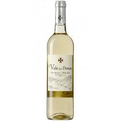 White wine bottle Vale das Donas