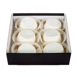 Italian cheese in box Capra fresca piemontese