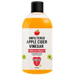 Unfiltered Apple Cider Vinegar 500ml bottle in English