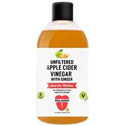 Unfiltered Apple Cider Vinegar with Ginger 500ml bottle in English