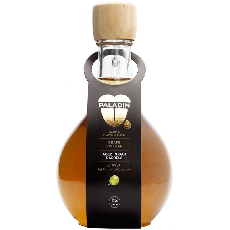 Aged White Wine Vinegar bottle in English