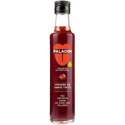 Red Wine Vinegar 6° in glass bottle with 250ml