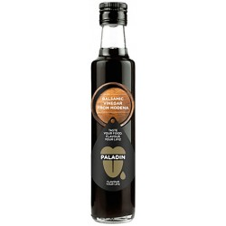 Balsamic Vinegar 6° in glass bottle with 250ml in English