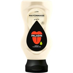 Mayonnaise 225ml Top Down in English