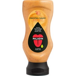 Cocktail Sauce - Spicy 275ml Top Down in English