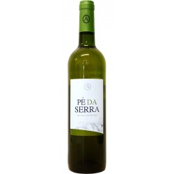 White wine bottle with 75cl