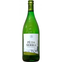 White wine bottle with 75cl with 1L