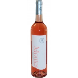 Rosé wine bottle Montes with 75cl