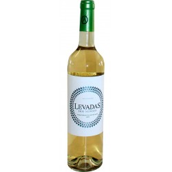 White Wine Levada dos Monges bottle with 75cl