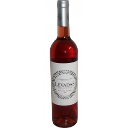 Rosé Wine Levadas dos Monges in bottle with 75cl