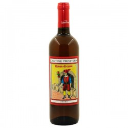 Dessert wine Vino Zibibbo in bottle with 75cl