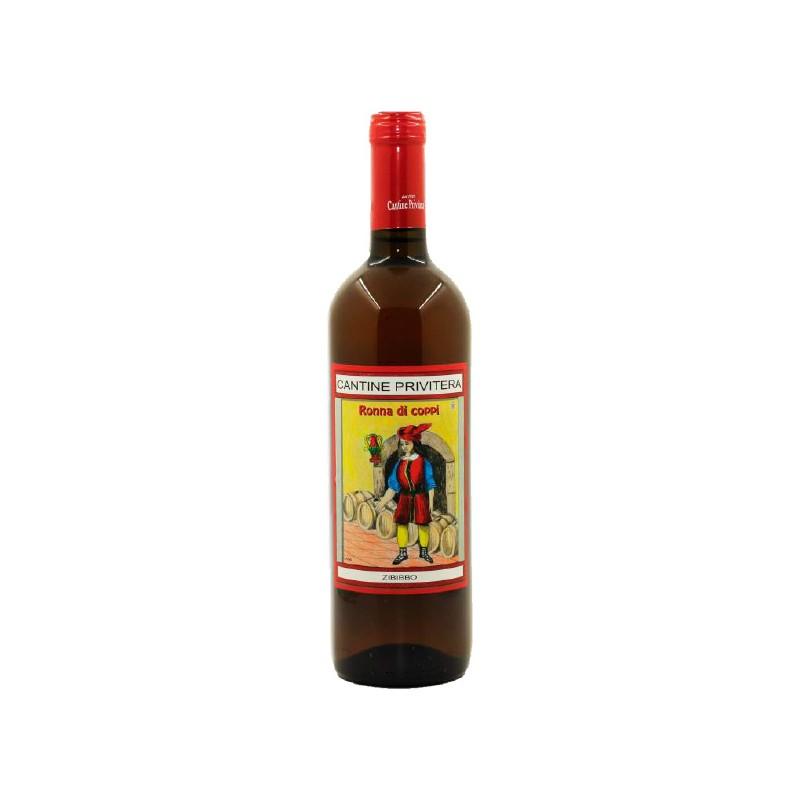 Dessert wine Vino Zibibbo in bottle with 75cl
