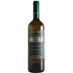 White wine bottle Gerbino Chardonnay IGP Terre Siciliane with 75cl